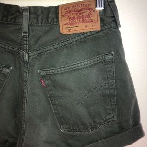 Levi's High Waist Shorts